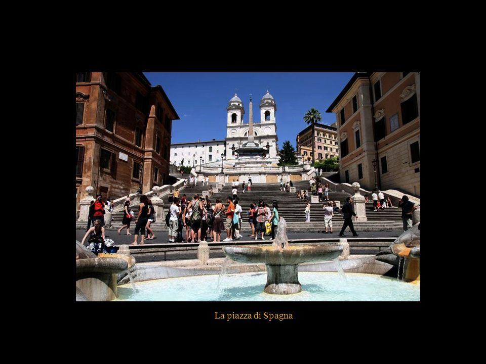 La piazza Venetia