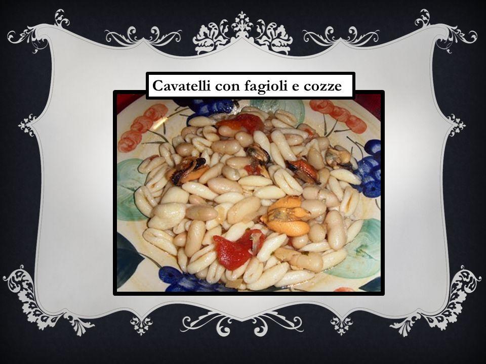 Cavatelli con fagioli e cozze