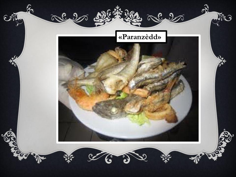 Pane e pasta «Paranzèdd»