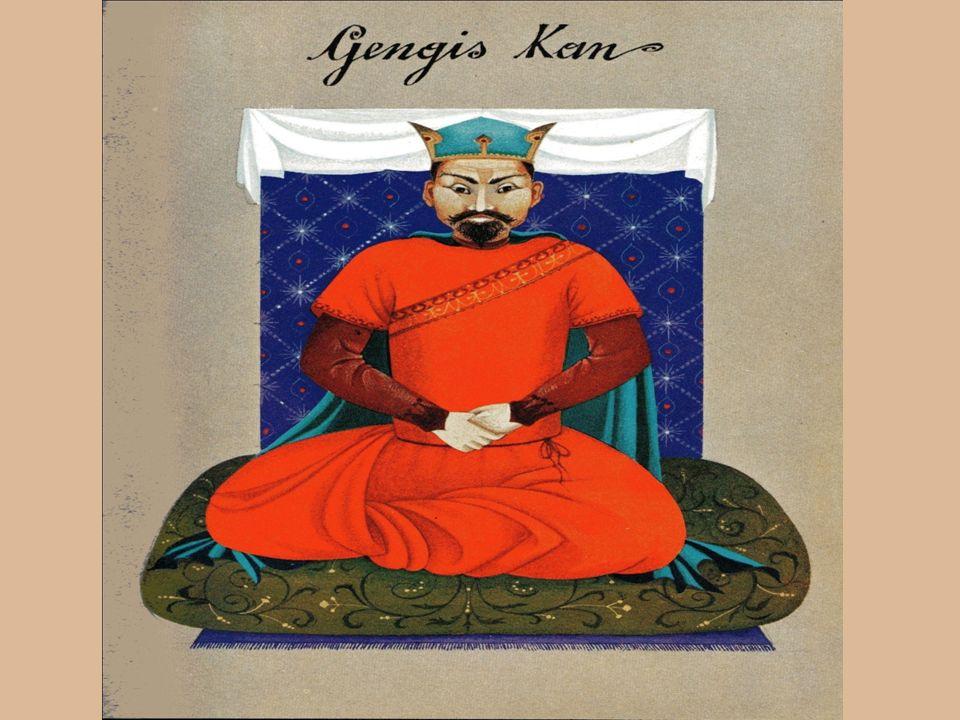 Le nouveau Khan Ögodei, après la mort de Gengis Khan Les Mongols de Ögodei, fils de Gengis Khan,semparèrent de Moscou en 1238, puis de Kiev, en 1240.