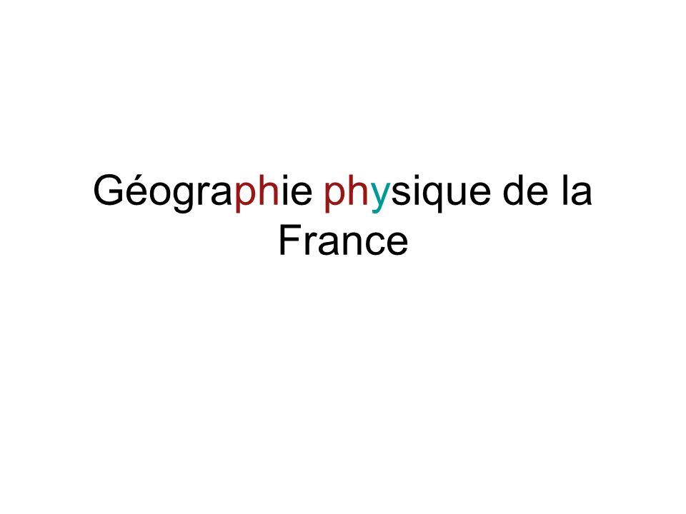 Géographie physique de la France La carte: un mot, plusieurs sens 8- (Géographie, Astronomie, Marine) cartina, pianta, mappa: Il faut dresser une carte de la région.