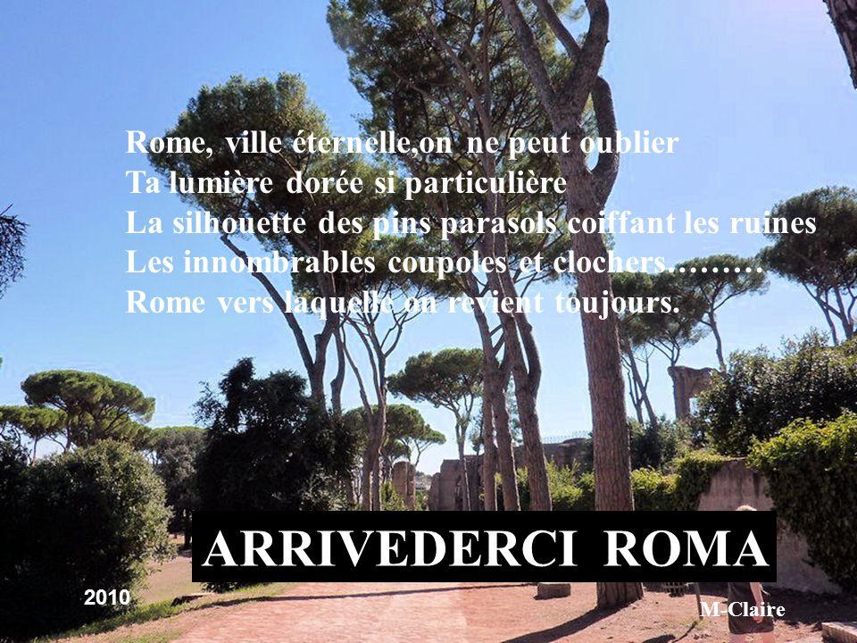 Le soir tombe:flânerie,restaurants…Lart de vivre romain