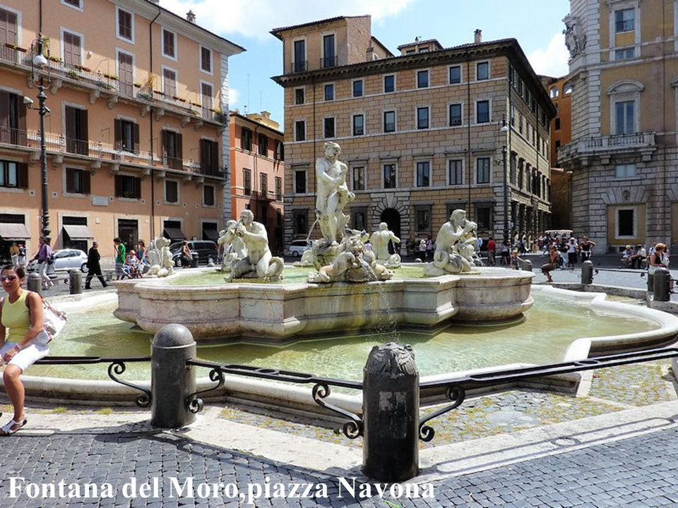 Piazza Navona Luciano Pavaroti - chitarra romana