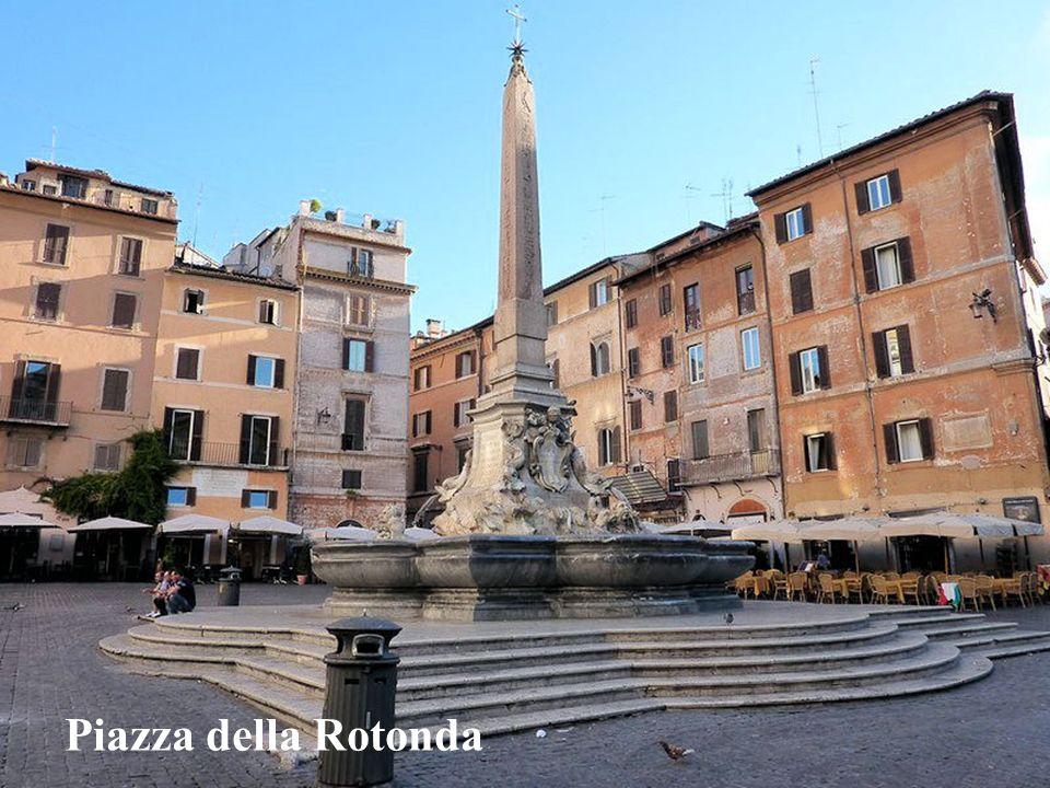Le Pantheon et la Piazza della Rotonda