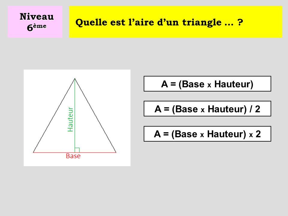 Comment s'appelle le plus grand côté d'un triangle rectangle .