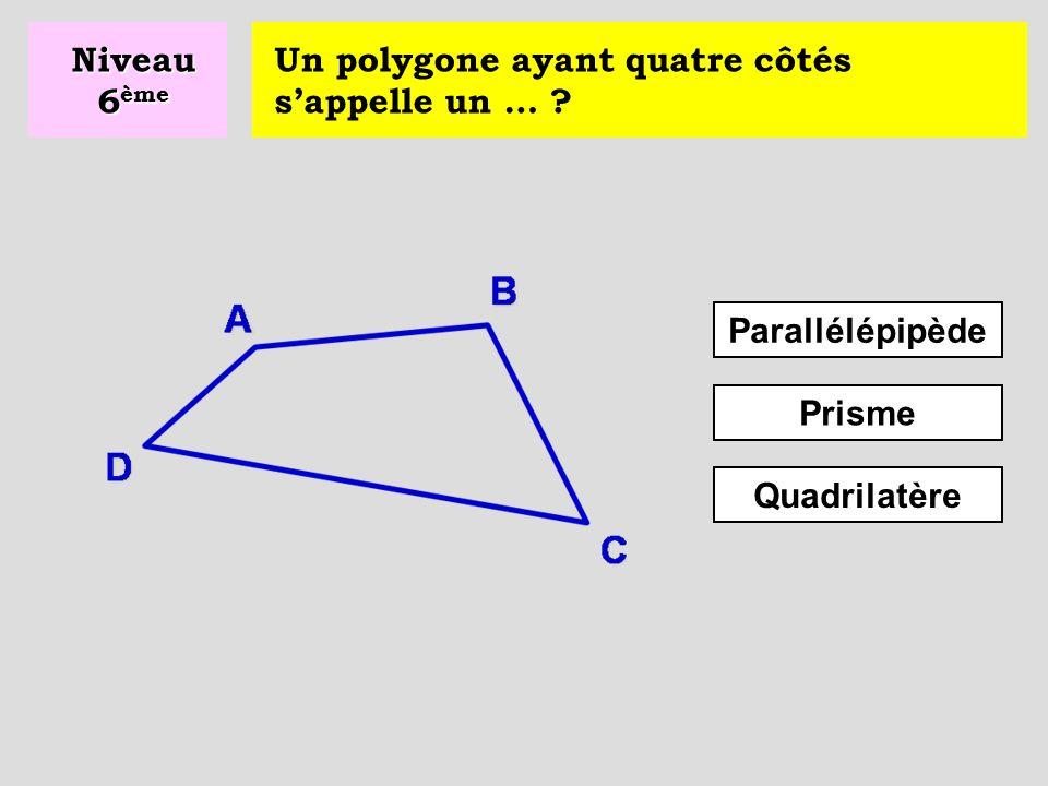 Quelle est l'aire d'un triangle … .