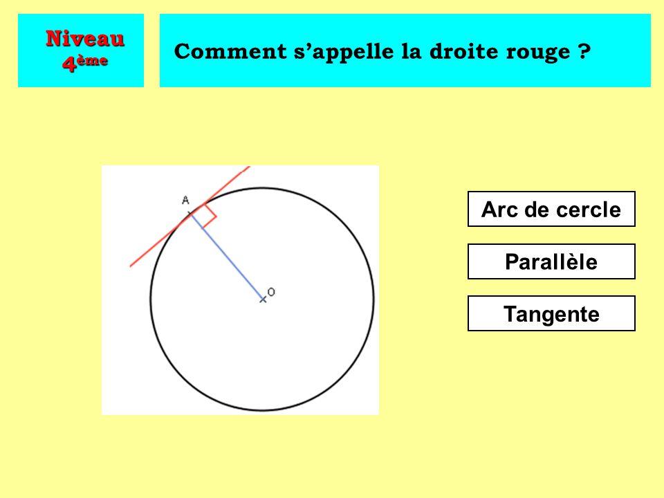 Quelle proposition illustre le théorème de Pythagore .