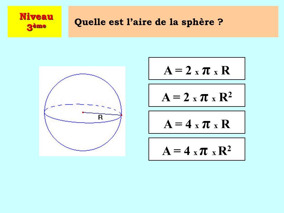 À quoi est égal le cosinus d'un angle aigu ? Niveau 3 ème  Cliquez sur la bonne réponse