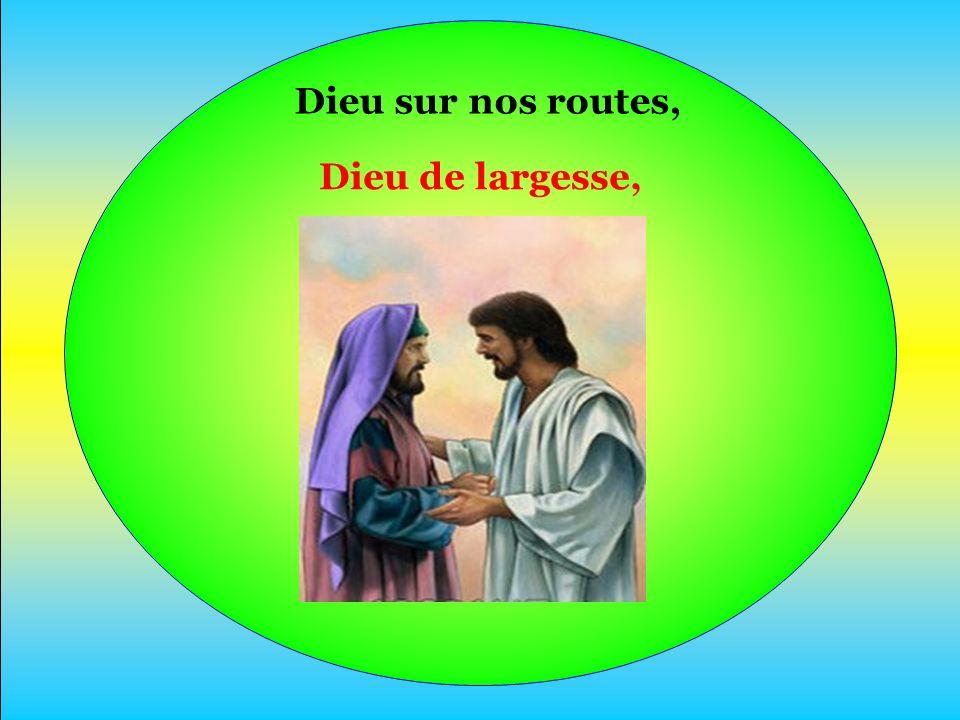 En Jésus-Christ Il nous devance, Nous invite À goûter sa Joie.