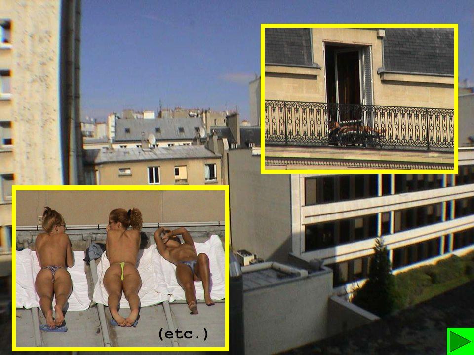 Beliebt publicité ). «Voilà une banale vue des toits de Paris, comme tout  FE32