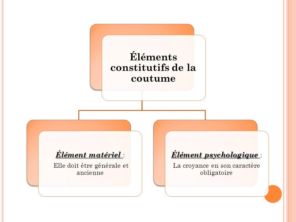 Dissertation coutume et constitution