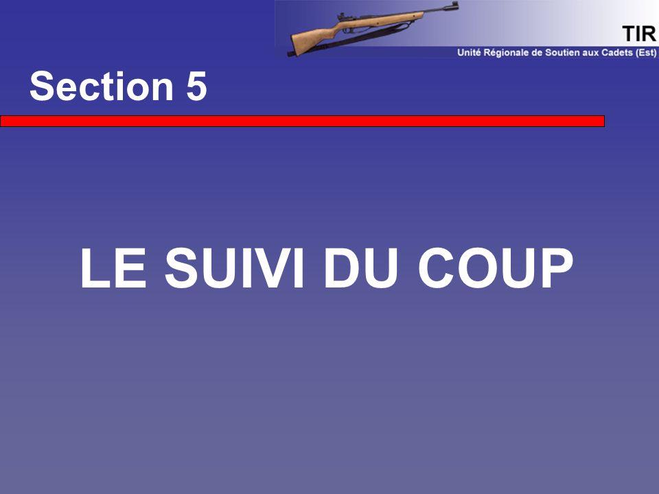 Section 5 LE SUIVI DU COUP