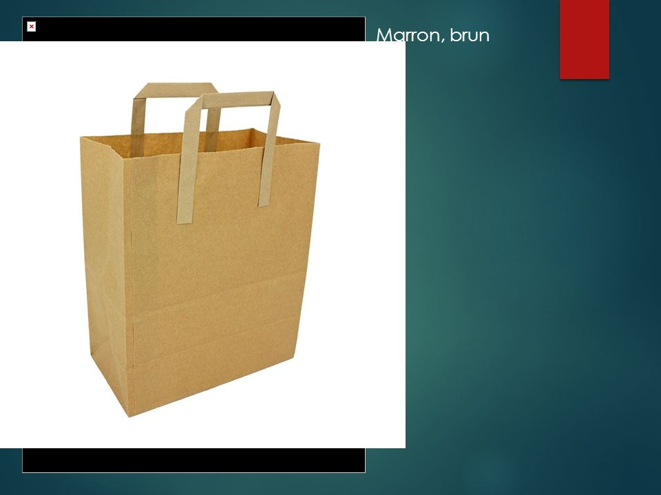 Marron, brun