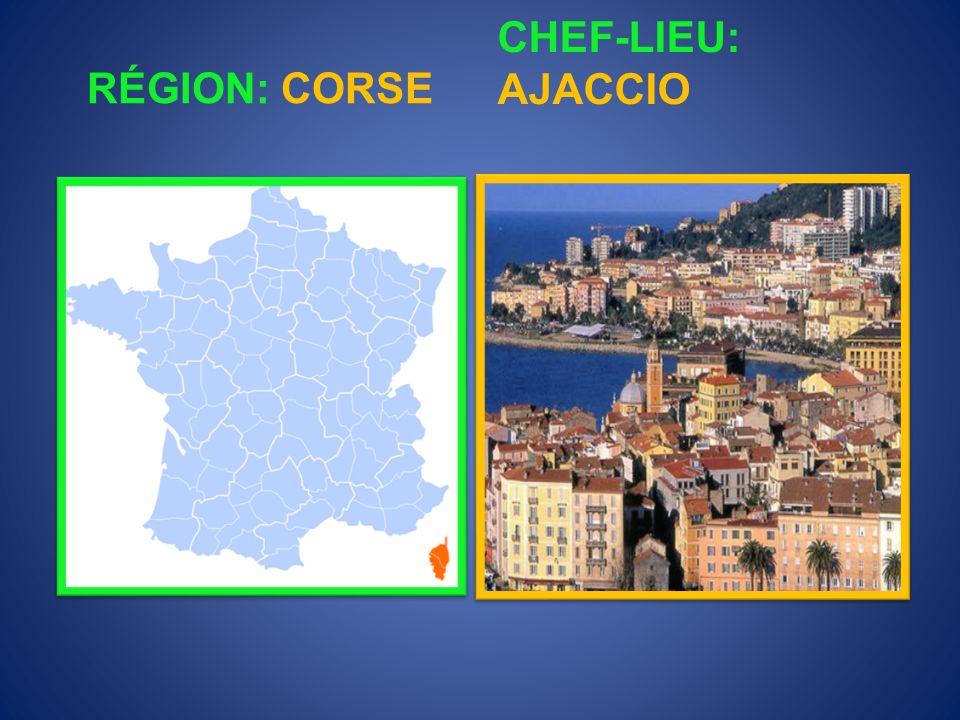 RÉGION: CHAMPAGNE- ARDENNE CHEF-LIEU: CHÂLONS- EN-CHAMPAGNE