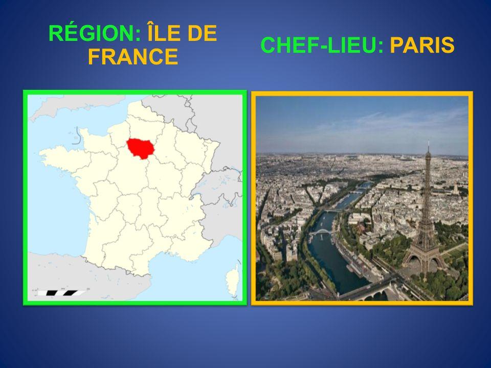 RÉGION: FRANCHE- COMTÉ CHEF-LIEU: BESANÇON