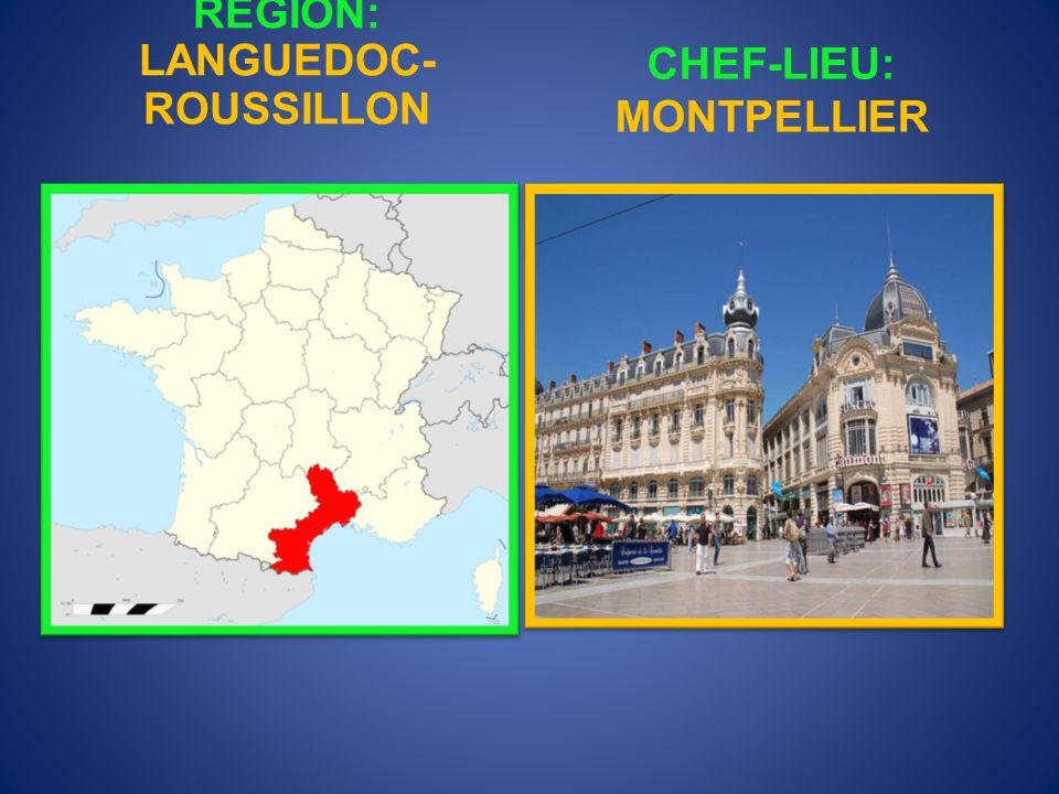 RÉGION: ÎLE DE FRANCE CHEF-LIEU: PARIS