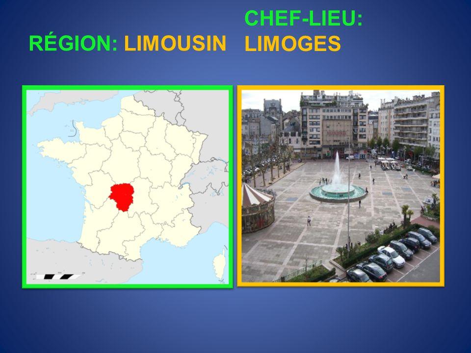 RÉGION: LANGUEDOC- ROUSSILLON CHEF-LIEU: MONTPELLIER