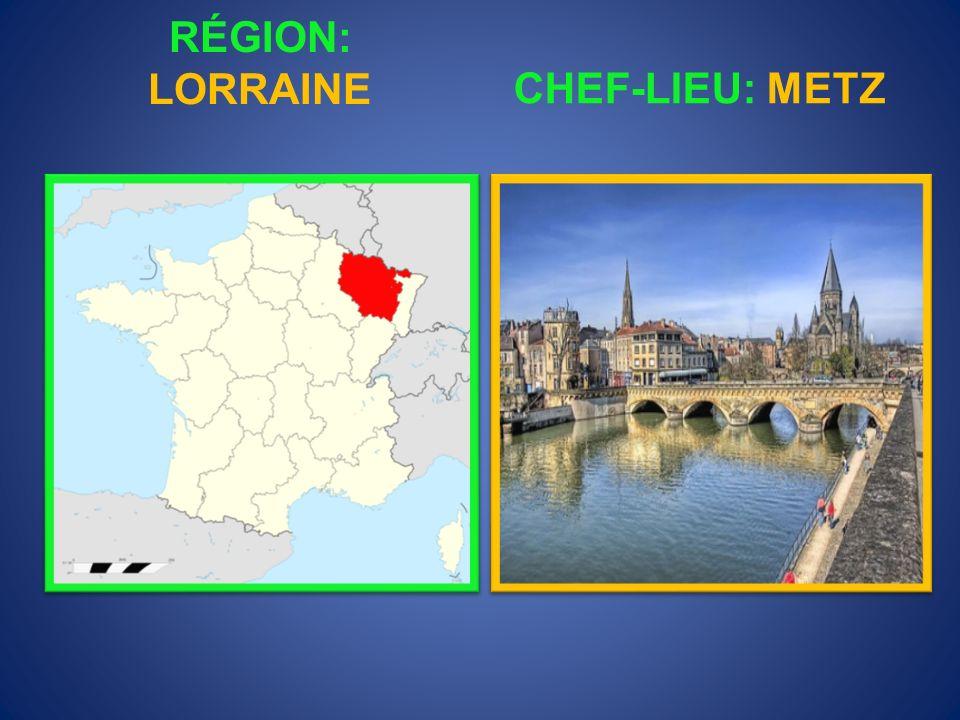 RÉGION: LIMOUSIN CHEF-LIEU: LIMOGES