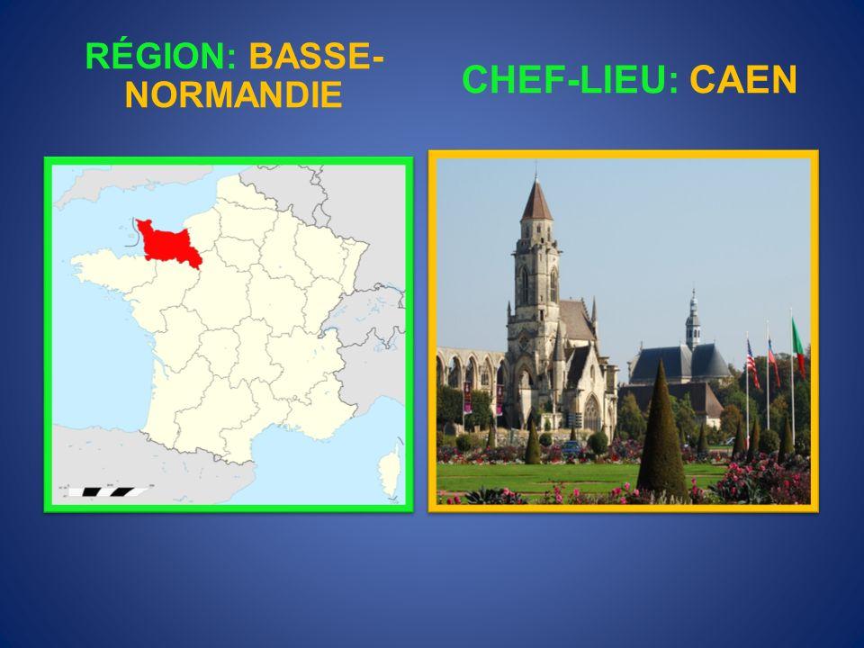 RÉGION: NORD-PAS- DE -CALAIS CHEF-LIEU: LILLE