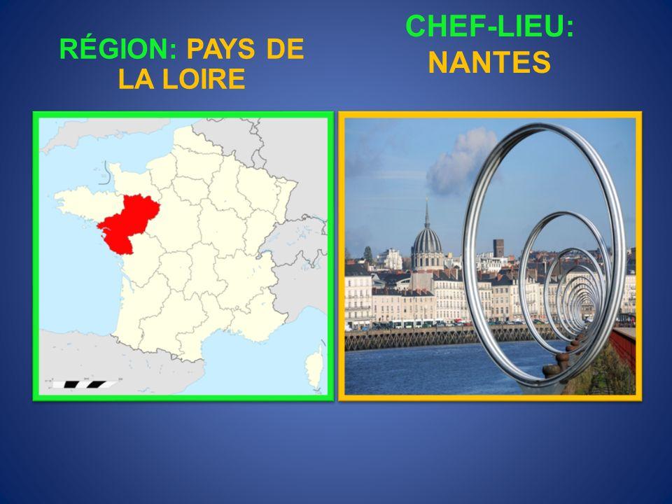 RÉGION: BASSE- NORMANDIE CHEF-LIEU: CAEN