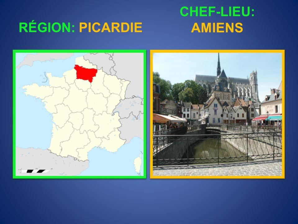 RÉGION: HAUTE- NORMANDIE CHEF-LIEU: ROUEN