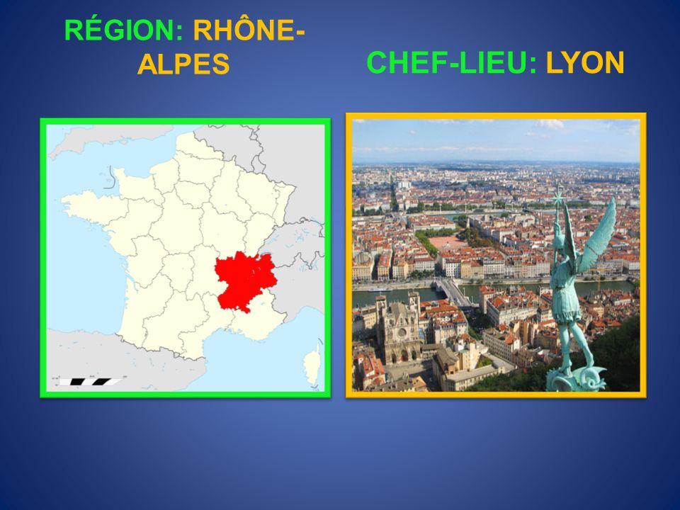 RÉGION: PROVENCE-ALPES- CÔTE D´AZUR CHEF-LIEU: MARSEILLE