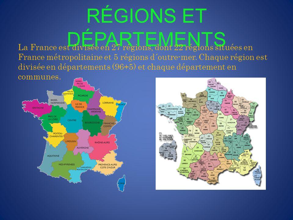 FLEUVES La France est traversée par cinq fleuves: La Loire, le plus long fleuve français (1.012km) La Seine qui traverse Paris.