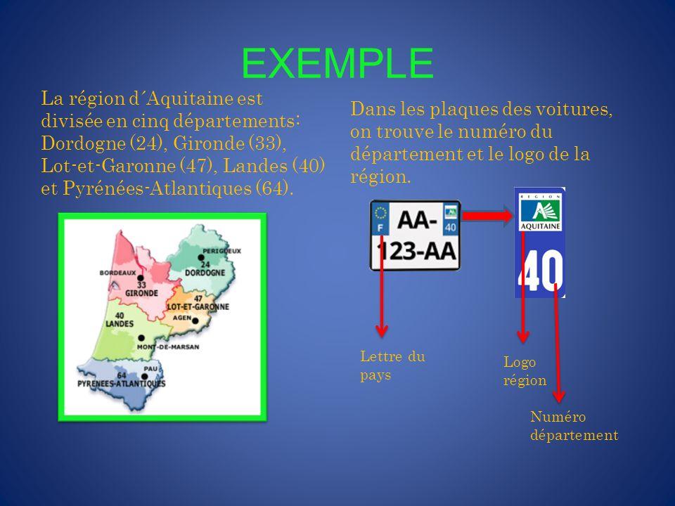 RÉGIONS ET DÉPARTEMENTS La France est divisée en 27 régions, dont 22 régions situées en France métropolitaine et 5 régions d´outre-mer.