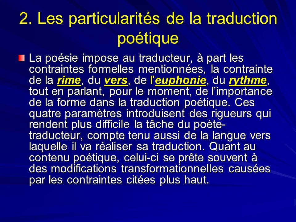 Contraintes formelles posie dissertation