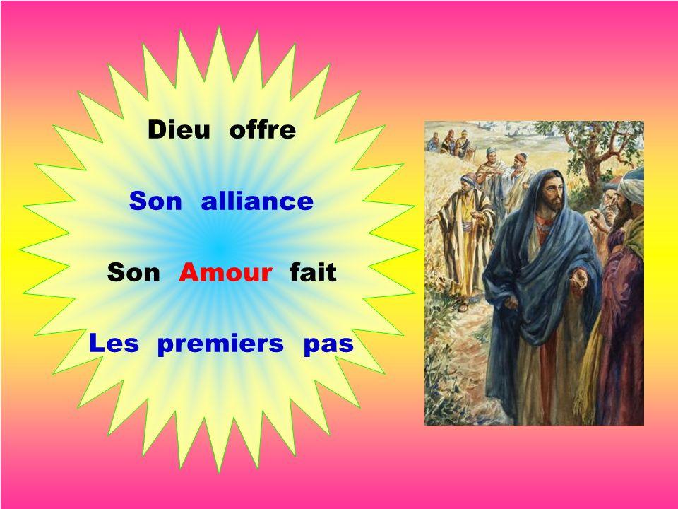 Jésus nous mène, Il nous entraîne, Il redresse nos chemins