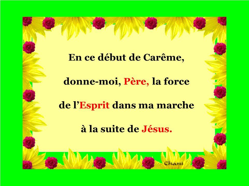 Défilement manuel DANS LA JOIE DE TON ALLIANCE Thème général Jésus au désert