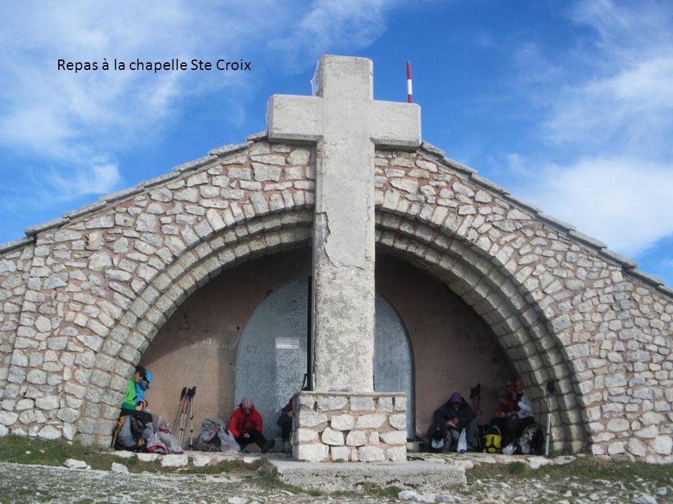 Repas à la chapelle Ste Croix