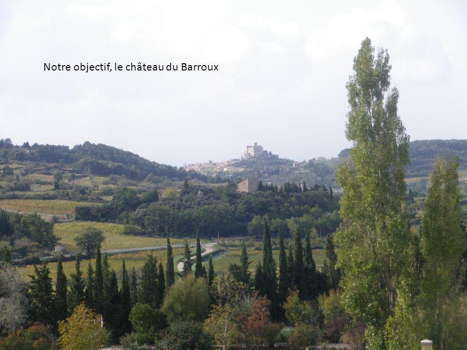 Notre objectif, le château du Barroux