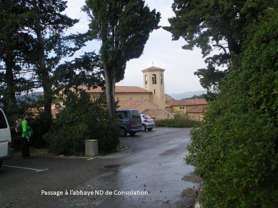 Passage à l'abbaye ND de Consolation