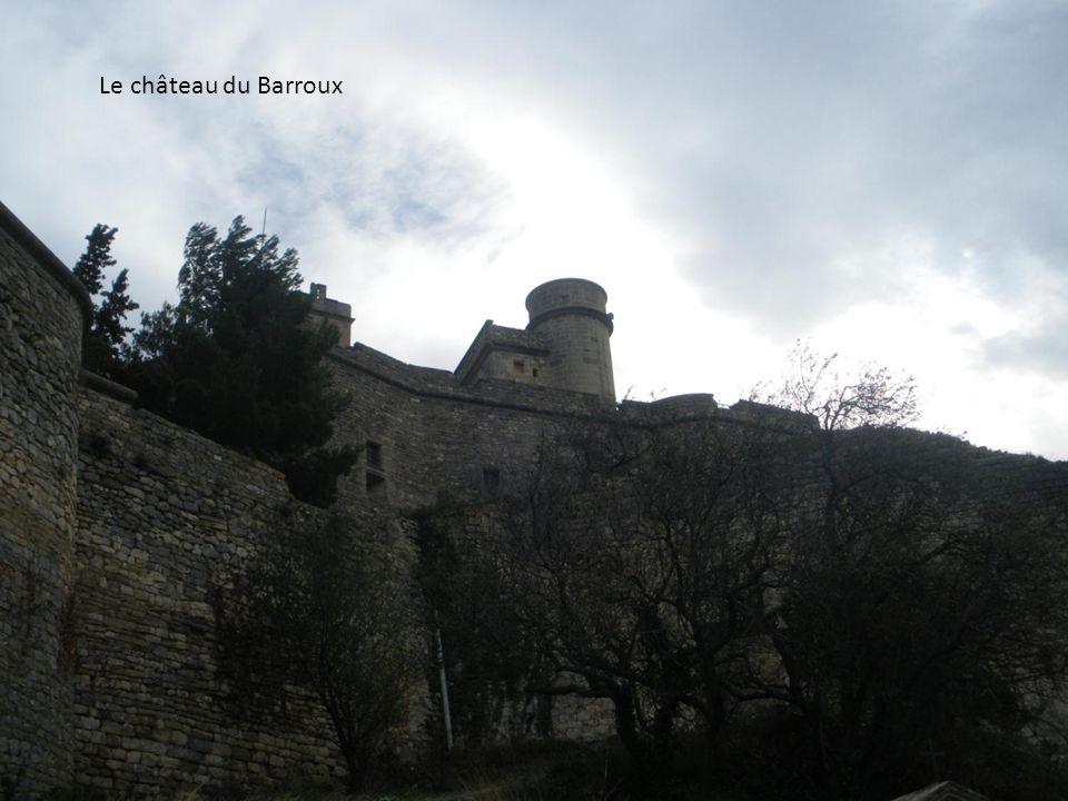 Le château du Barroux