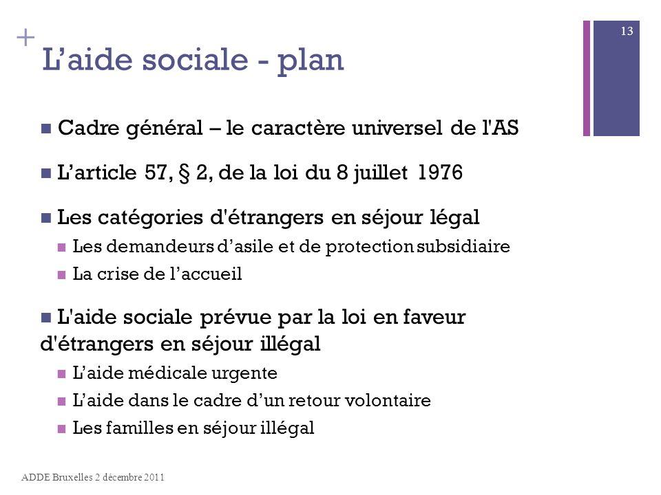 aide sociale subsidiaire