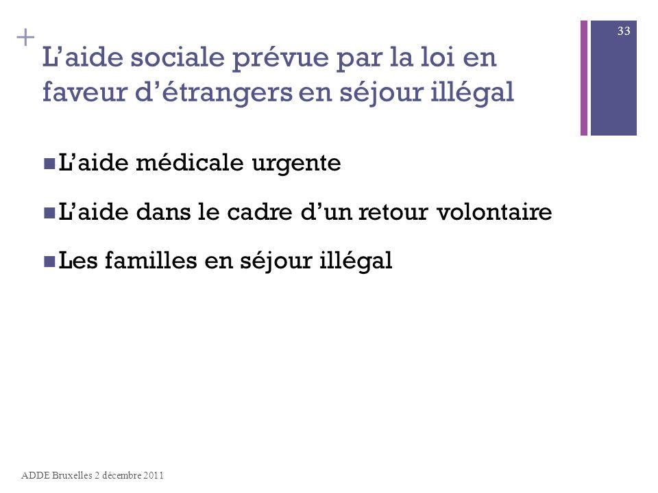 aide sociale 33
