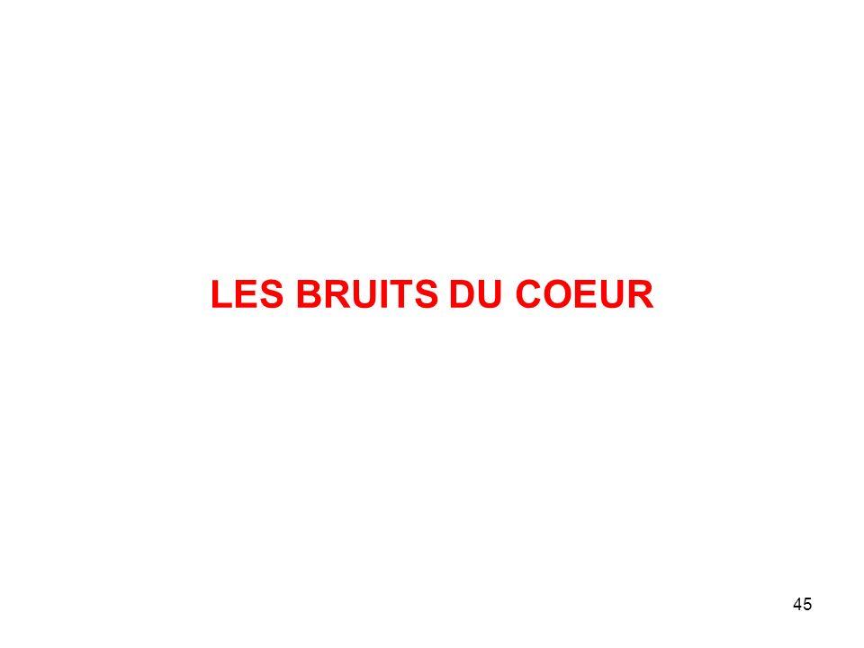 45 LES BRUITS DU COEUR