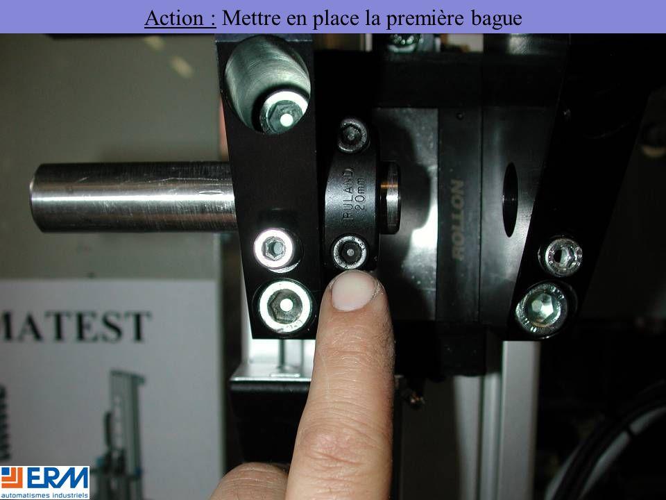 Action : Mettre en place la première bague