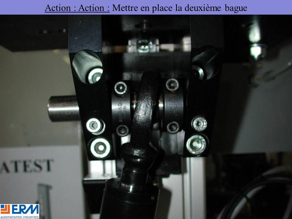 Action : Action : Mettre en place la deuxième bague