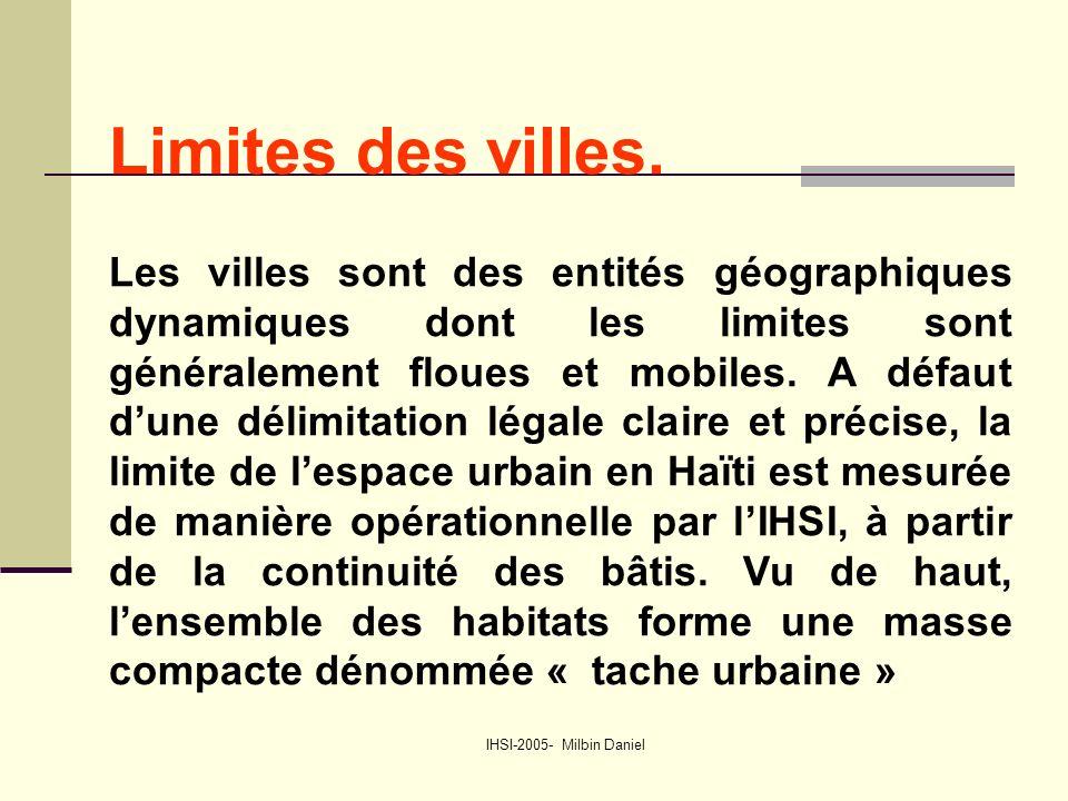 IHSI-2005- Milbin Daniel Limites des villes.