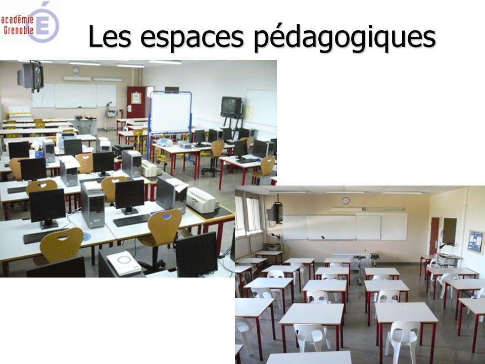Les espaces pédagogiques