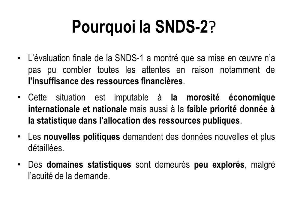 Pourquoi la SNDS-2 .