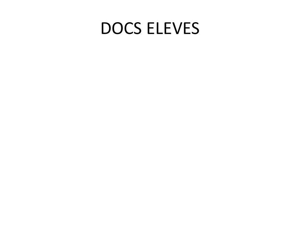 DOCS ELEVES
