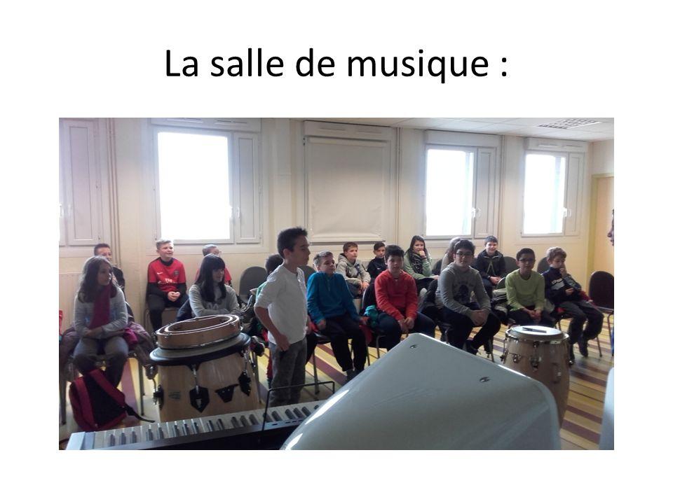 La salle de musique :