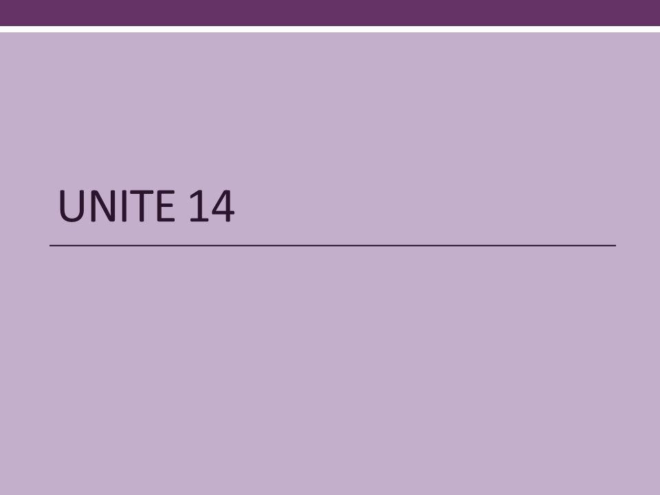 UNITE 14