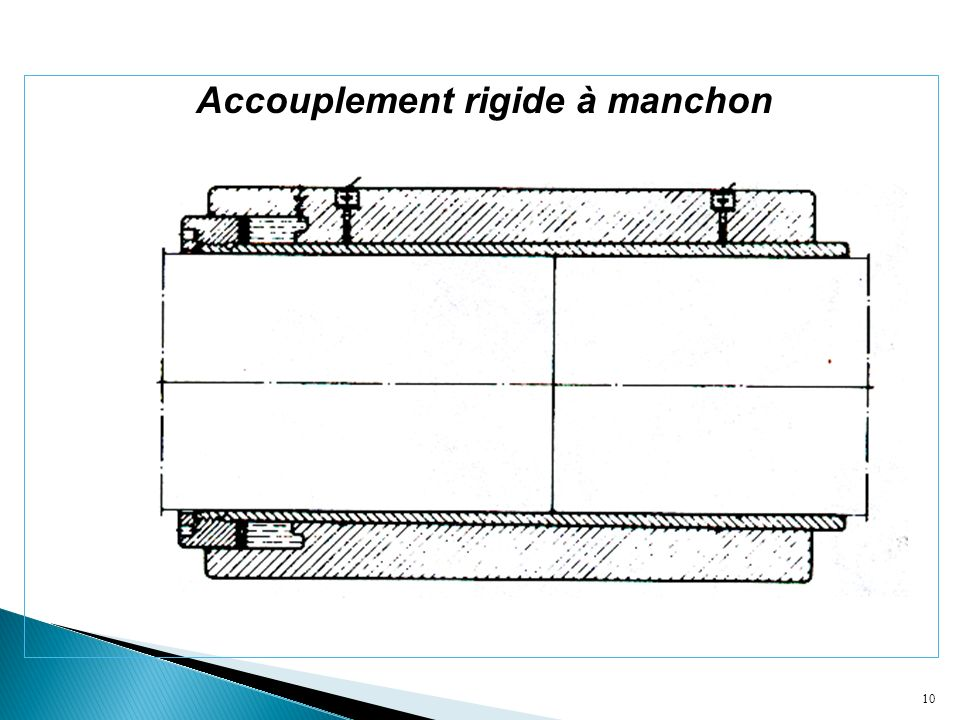10 Accouplement rigide à manchon