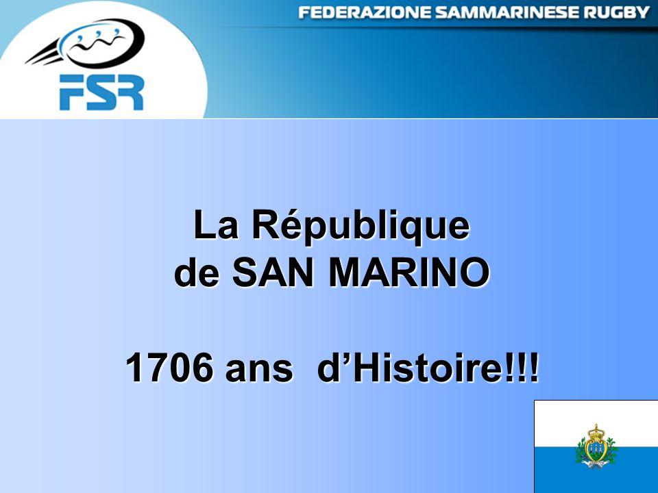 La République de SAN MARINO 1706 ans d'Histoire!!!