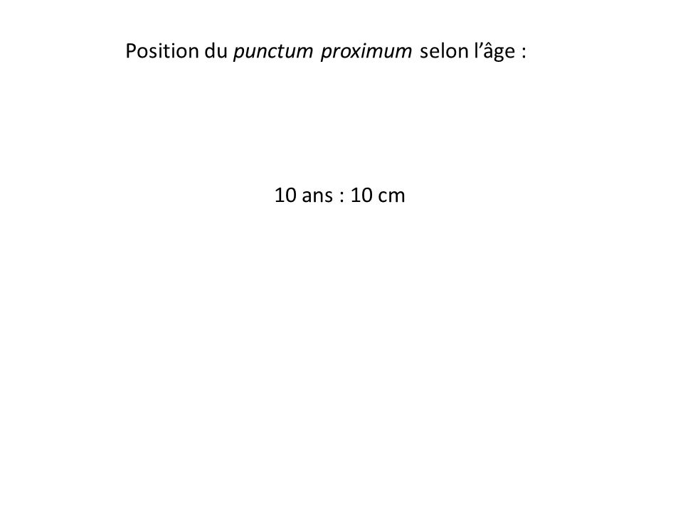 10 ans : 10 cm