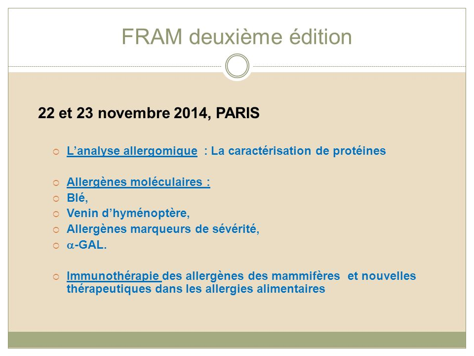 analyses allergies alimentaires